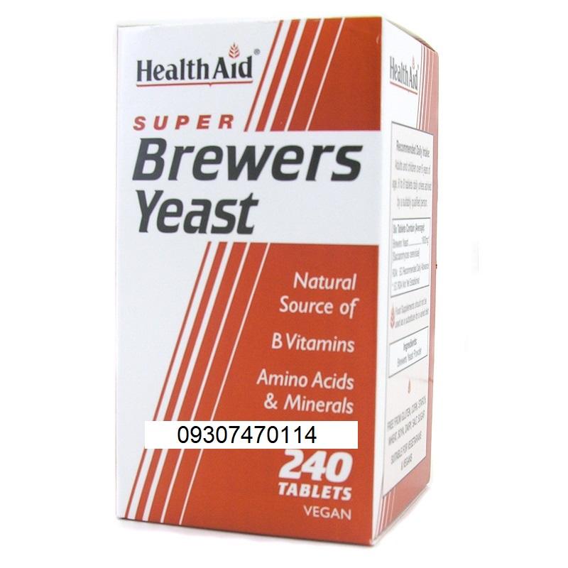 قرص چاق کننده گیاهی Brewers Yeast اصل 240 تایی مخمر ابجو